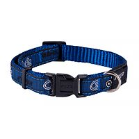 Rogz Fancy Dress Collar - Navy Paw